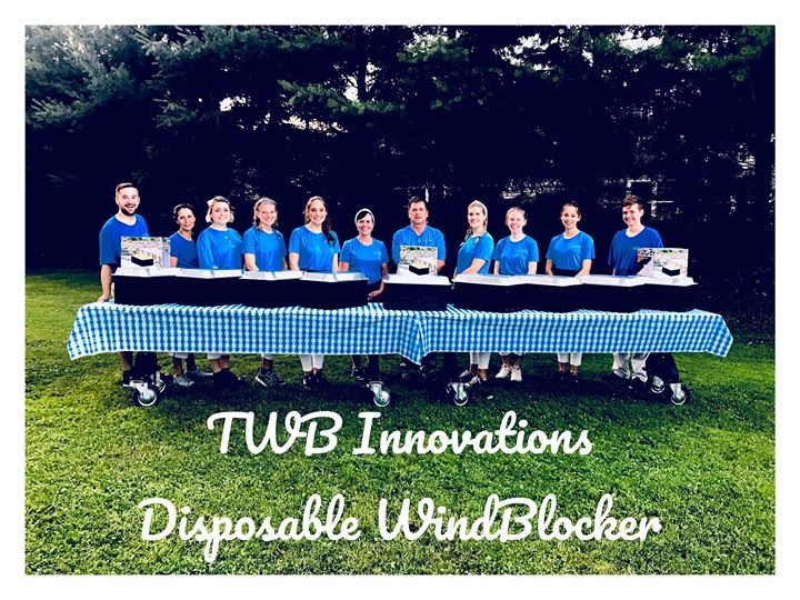 TWB innovations disposable windblocker